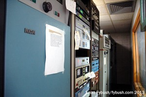 KAUS transmitter room