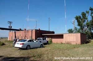 KELO(AM) transmitter building
