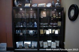 Case full of awards