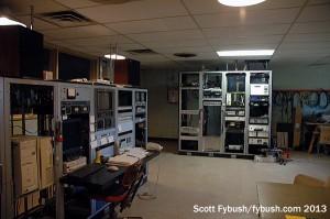 KXJB's transmitter room