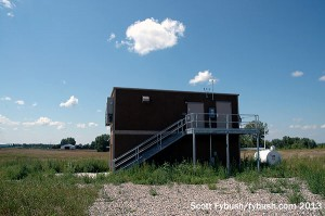 WDAY's new transmitter building