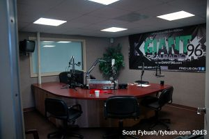 Looking into the WSVX studio