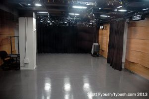 WAMU basement studio