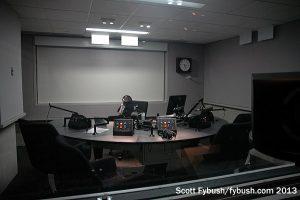 WAMU talk studio