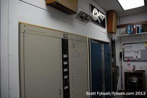 WRQX's analog transmitters