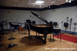...and recording studio