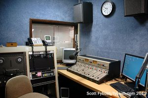 Production room at WTVB