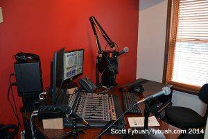Upstairs: streaming studio