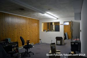 Basement office and studio
