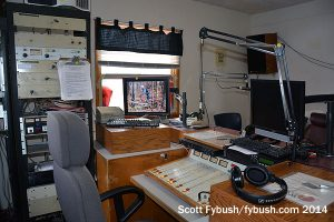 Cow Palace studio, upstairs