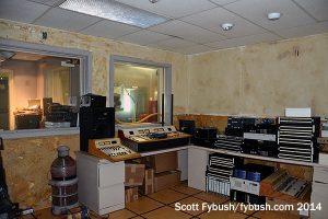 A former WKNR studio