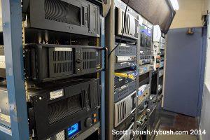 WPIG/WHDL's rack room