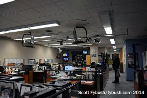 WWNY newsroom
