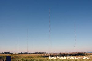 CFTR's eight-tower array