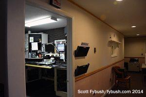 WICY's studio