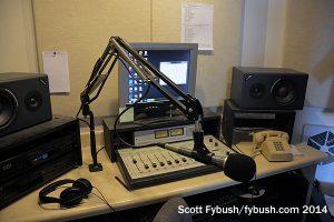 The WREM 88.7 studio