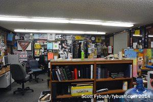 KFJC's main office