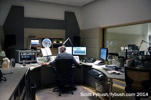 KQED-FM control room