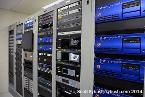 KQED-FM racks