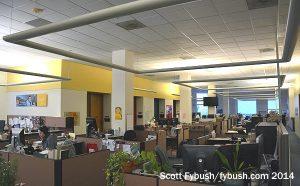 KQED newsroom