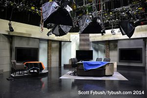 Newsroom set
