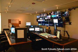 KRON control room