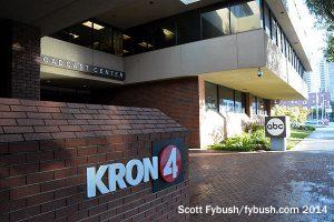 KRON in the KGO building