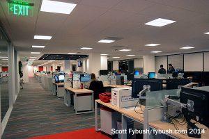KRON newsroom