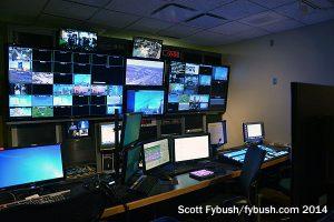 WTHR control room