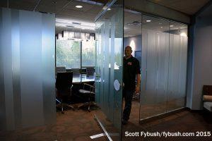 Best conference room door ever?