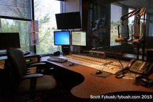 A KTAR control room