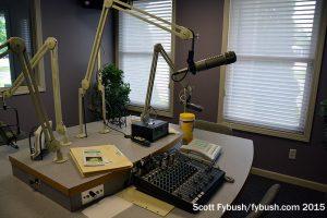 WCOE/WLOI talk studio