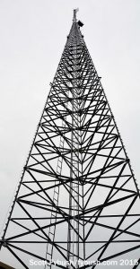 WLDE 101.7's new tower