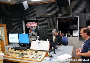 WOWO's studio, TV-ified