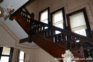 Stairwell at WAOV