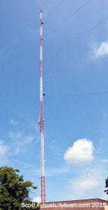 WEHT's tower