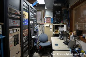 WDLC's transmitter and racks