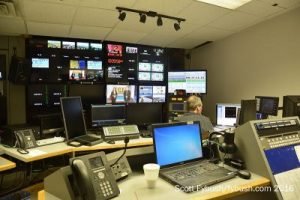 WVEC control room