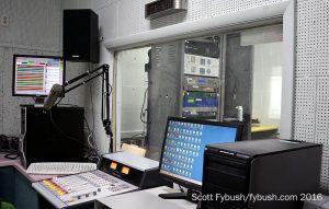 WEFX 94.1 studio