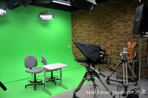 Gannon's TV studio