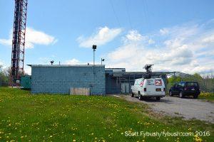 WKTV transmitter building
