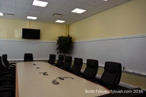 Classroom turned conference room
