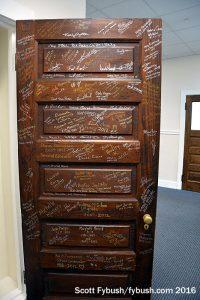 Schoolroom door