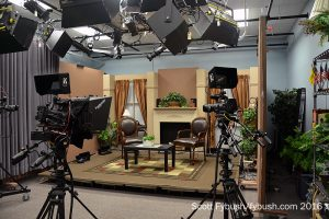 Bedford Community TV studio