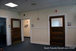 Radio studio doors