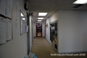Studio hallway at Forever