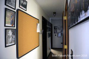 Bedroom... er, studio hallway