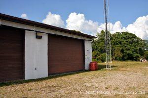 WVVV's transmitter building