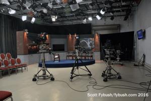 WGVU-TV studio...