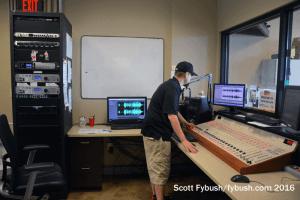 WLUN control room
